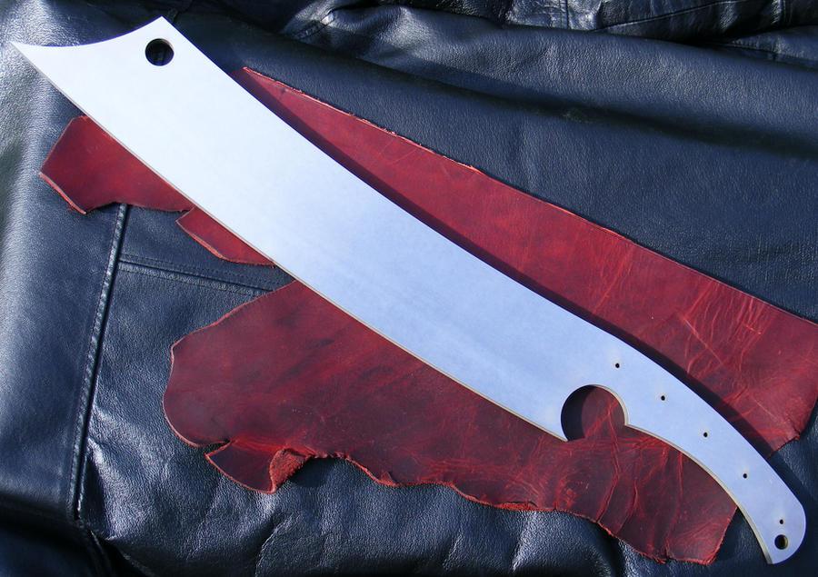 My Custom War Cleaver by Woe-Bringer