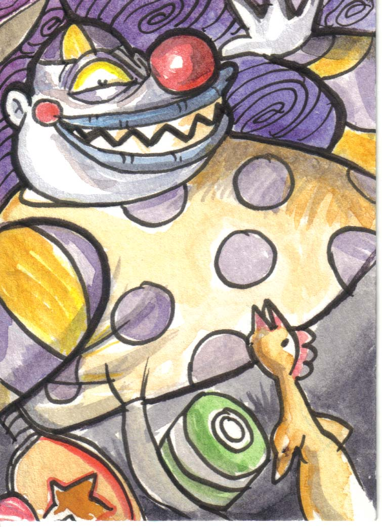 Nightmare Before Christmas Clown With A Tear Away Face.Clown With Tearaway Face By Meteorville On Deviantart