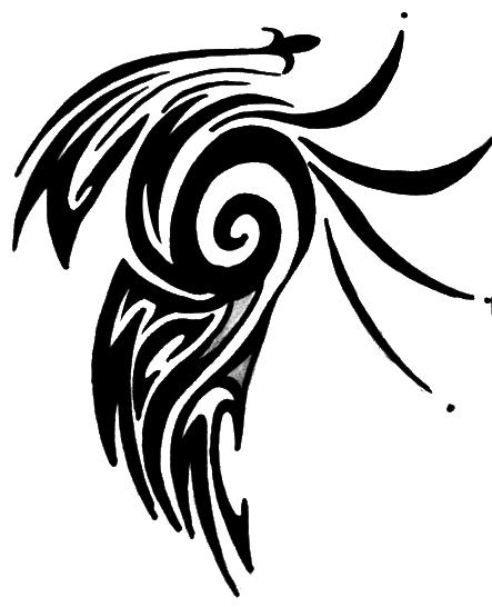 Tribal Shoulder - shoulder tattoo