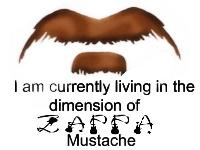 Zappa 'Stache by Bladechild
