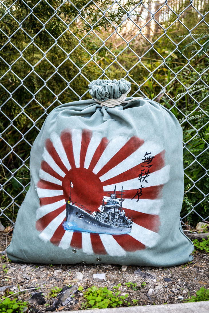 Empire of The Rising Sun Bag by angelsd