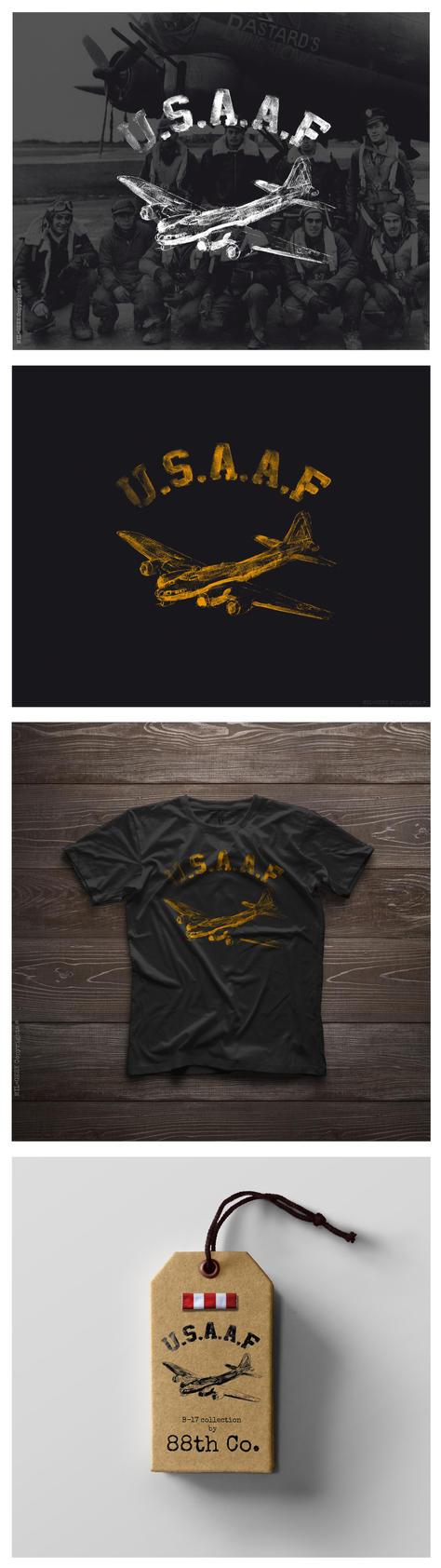 B-17 Bomber Inspired Brand Concept by angelsd