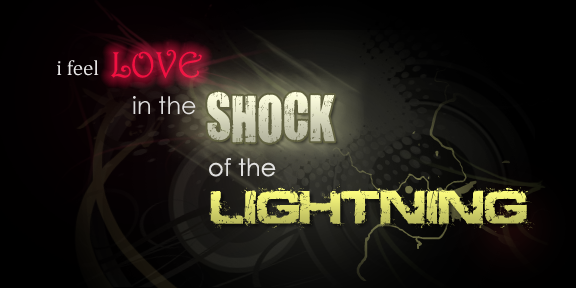 The Shock Of The Lightning by instilledbee