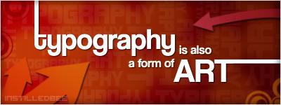 Typography: An Art by instilledbee