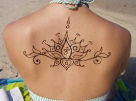 Henna Lotus Flower by ZachariahBusch