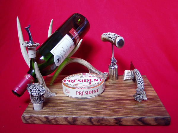 Wine and Cheese Set by ZachariahBusch