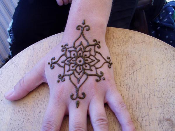 Henna Tattoo Easy Flower: Henna Flower By ZachariahBusch On DeviantArt