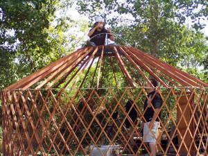 On My Yurt