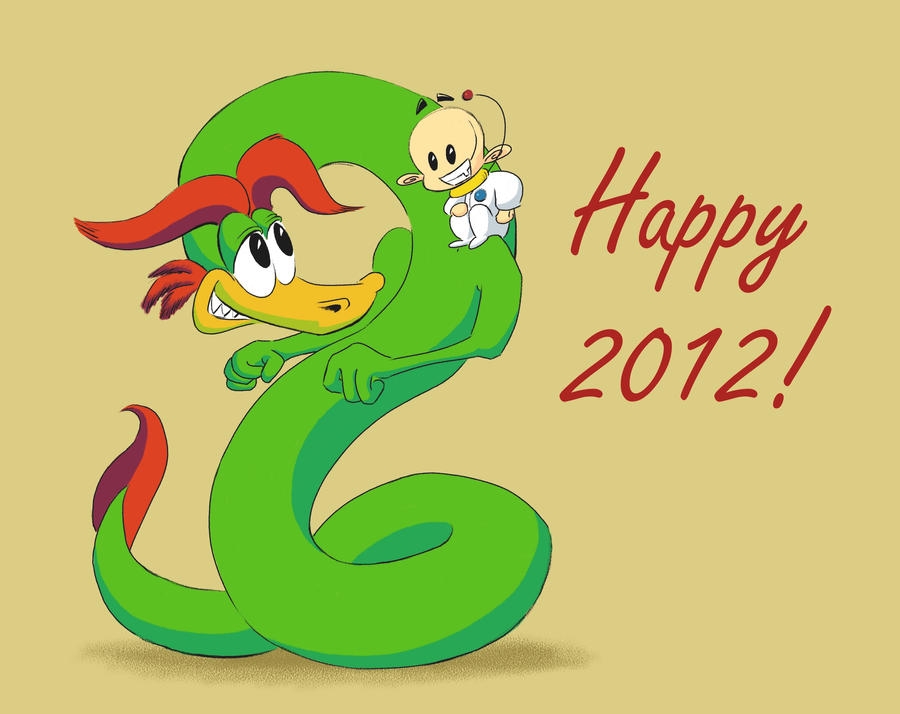 Happy 2012 by White88888888