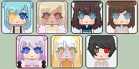 Pixel Icon Batch 3 by Sekaii-Chan