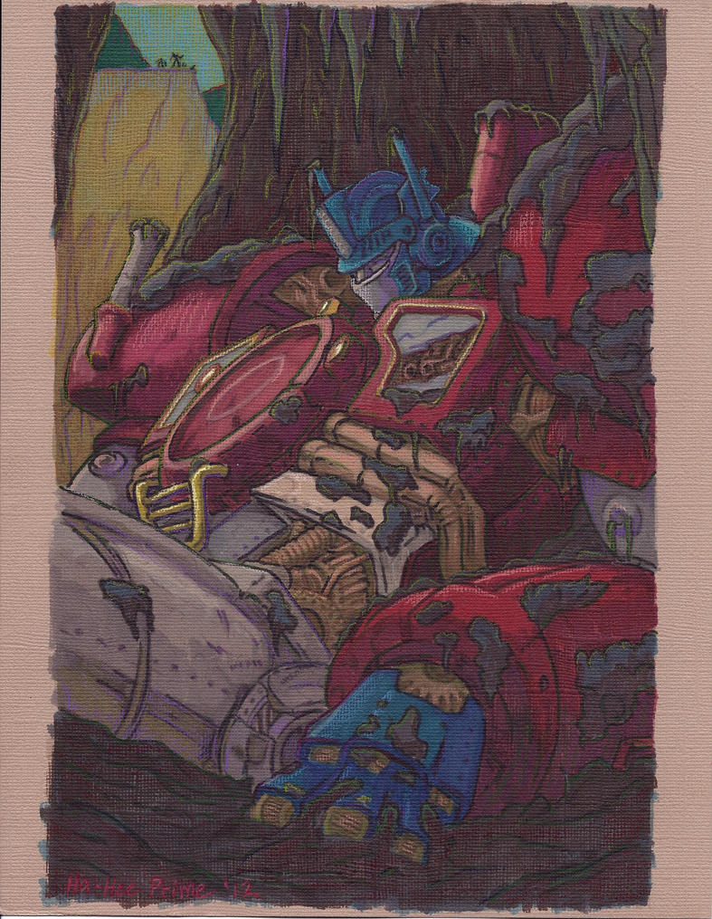 Real Color Scan of Guido's Prime by Ha-HeePrime