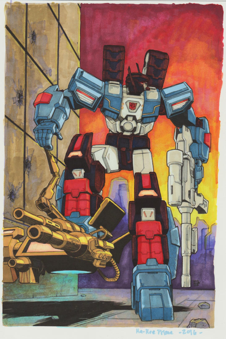 Fort Max MTMTE 46 Cover by Ha-HeePrime