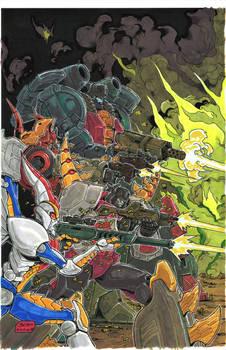 Dinobots Cover