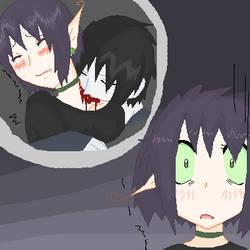 Mizu's Nightmare by Nyahko