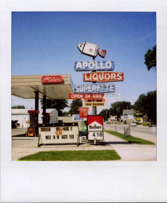 Apollo Liquors by futurowoman