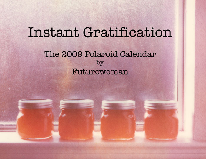 Instant Gratification Calendar by futurowoman