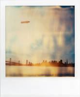 A Zeppelin Over San Francisco by futurowoman