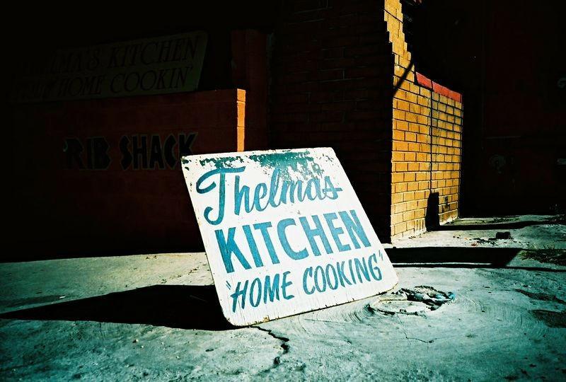 Thelma's Kitchen by futurowoman