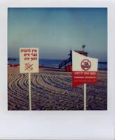 a manicured, dogless beach by futurowoman