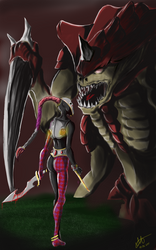 Harlequin and Tyranid
