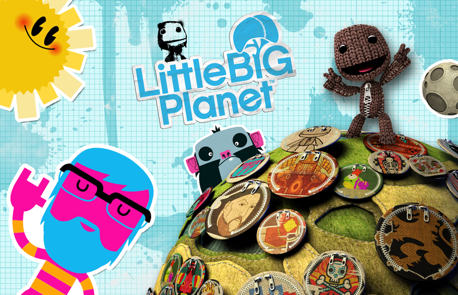 littlebigplanet wallpaper by meetmyphantoms on deviantart