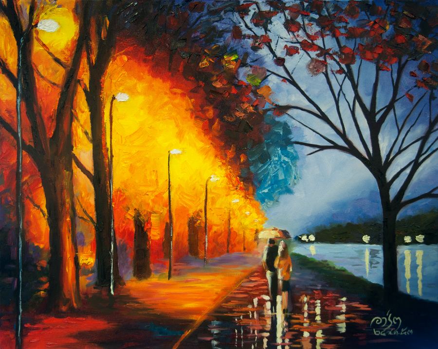 An Evening Walk by fishix
