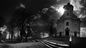 Black church by RavenDarke