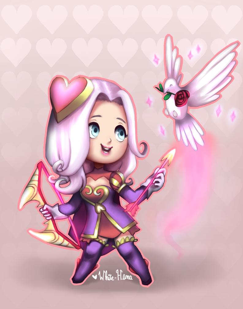 Heartseeker Ashe chibi by White-Hana