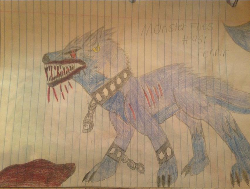 Monster Files #45. Fenrir by ScarletSpike