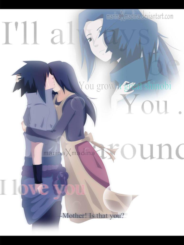 Sasuke and Miloto: Mom by MarinaXMadina