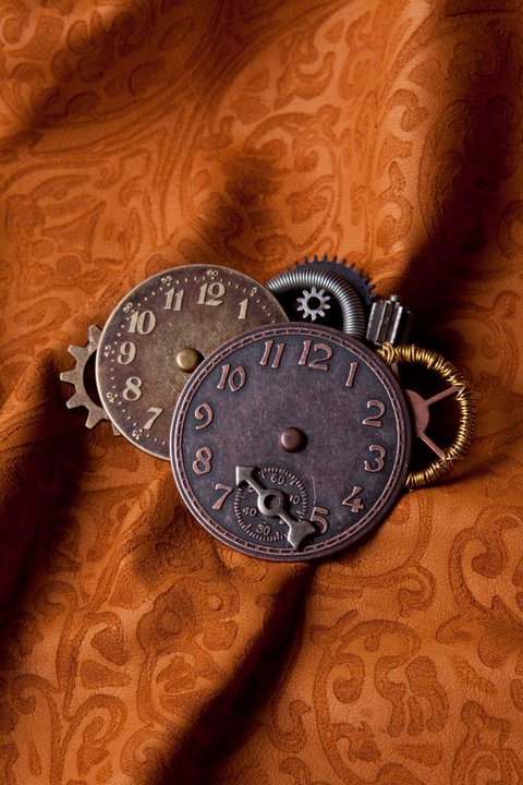 Steampunk'ed Brooch 2 by Deathsdoor-inc