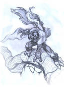 Soul Reaver . pencils by thekidKaos
