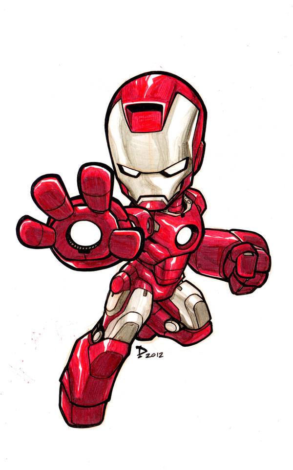 The gallery for --> Baby Iron Man Cartoon Drawing