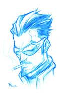 Sketchbook _ Deus Ex by thekidKaos
