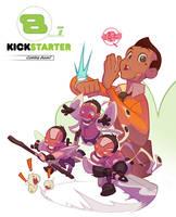 Bastion's 7 Kickstarter Cheeks Peek !! by thekidKaos