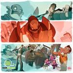 Bastion's 7 Kickstarter proms! by thekidKaos