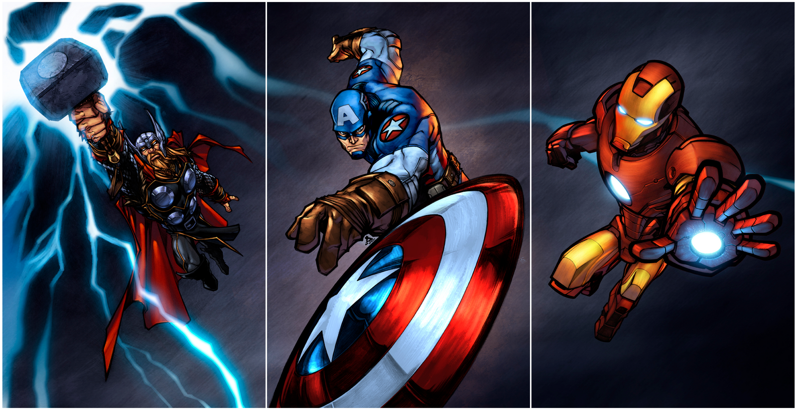 Avengers Assemble ! by