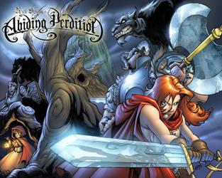 ABIDING PERDITION_cover WP by thekidKaos
