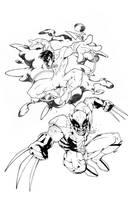 Nightcrawler - Wolverine by thekidKaos