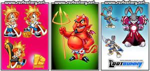 SOS mascots