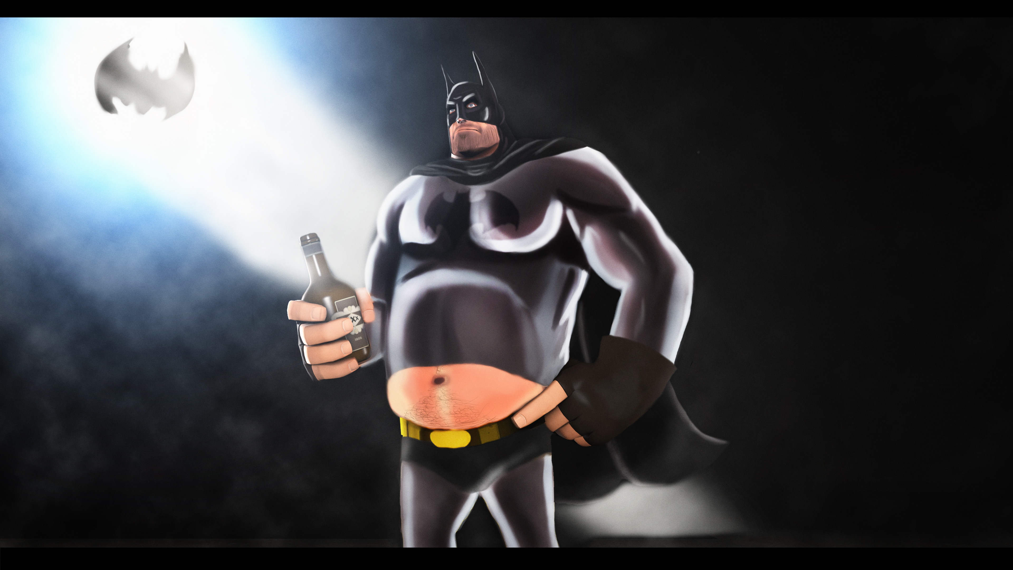 Heavy Batm...Fatman by P0nyStark
