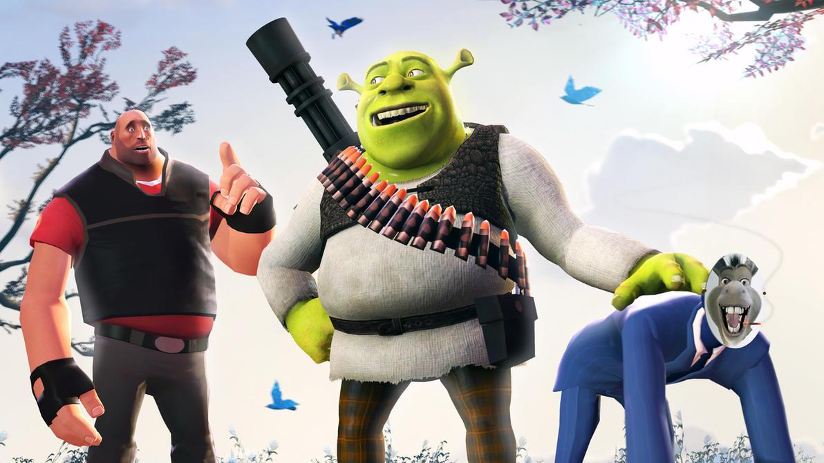 Heavy Shrek :D by P0nyStark