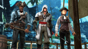 Assassins Creed IV Black Flag in TF2 style
