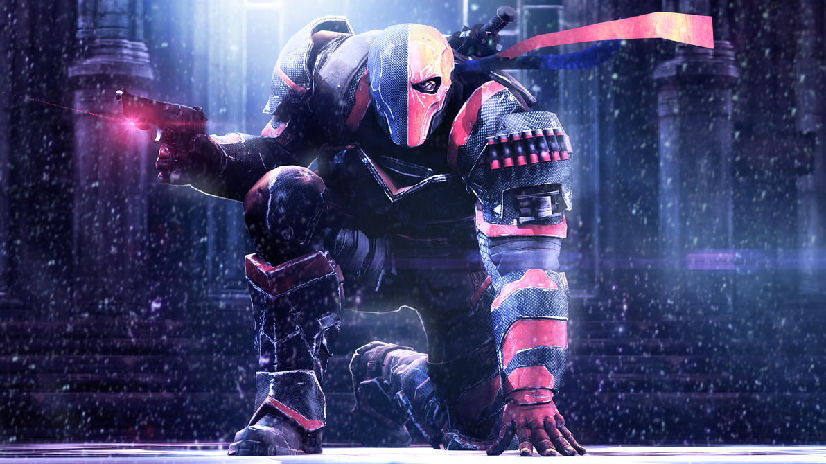 Deathtstroke from Batman Arkham Origins by P0nyStark