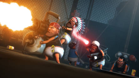 Baby Fortress 2 by P0nyStark