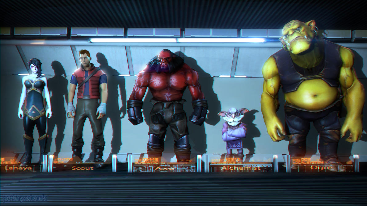 Guardians of the Galaxy: Valve version by P0nyStark