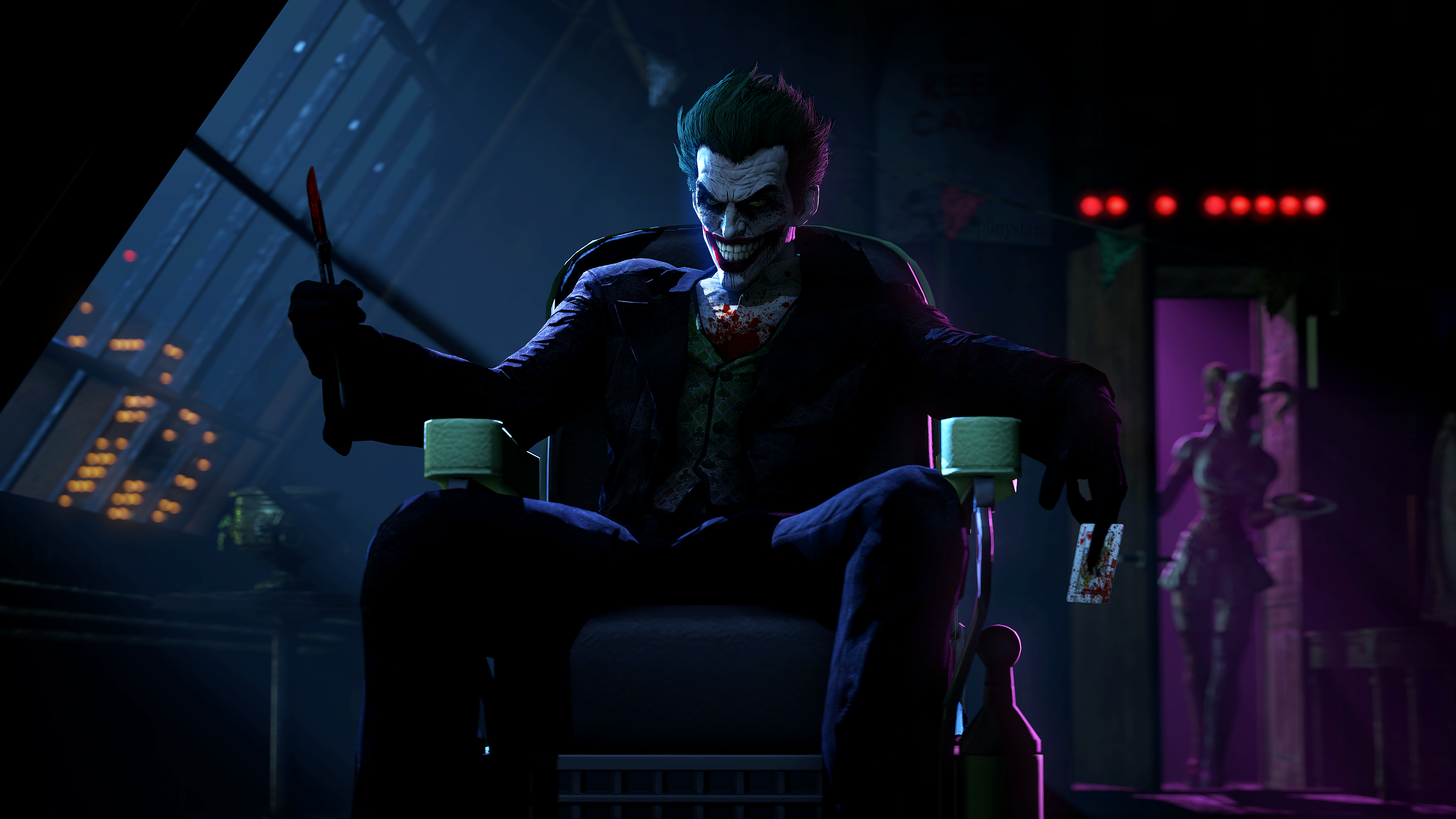 batman arkham origins joker wallpaper 1080p