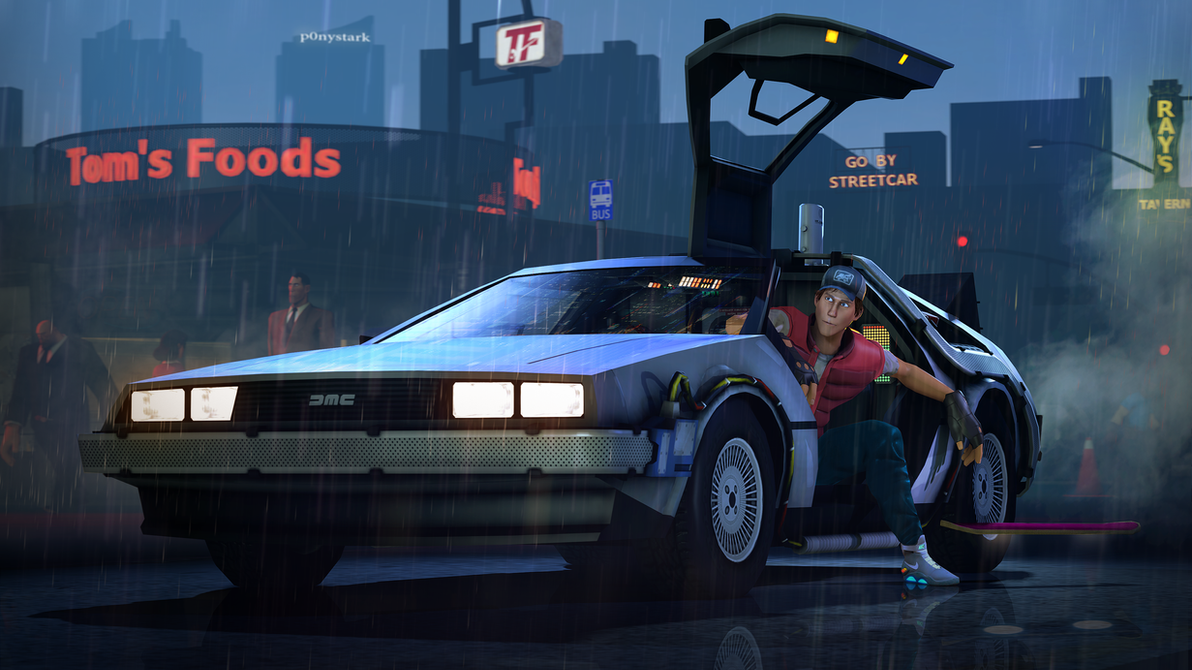 Back To The Future By P0nyStark On DeviantArt