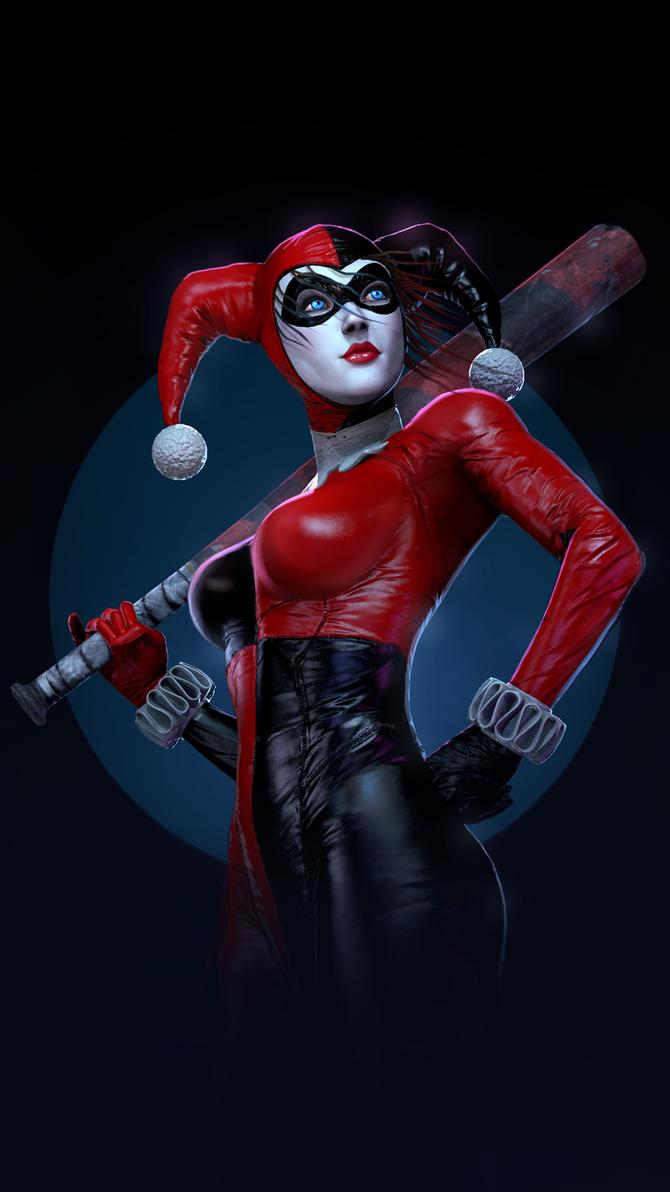 Harley Quinn by P0nyStark