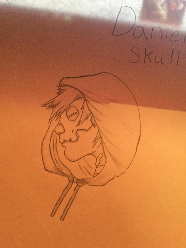 Finished Daniel Skull by DarkRBX